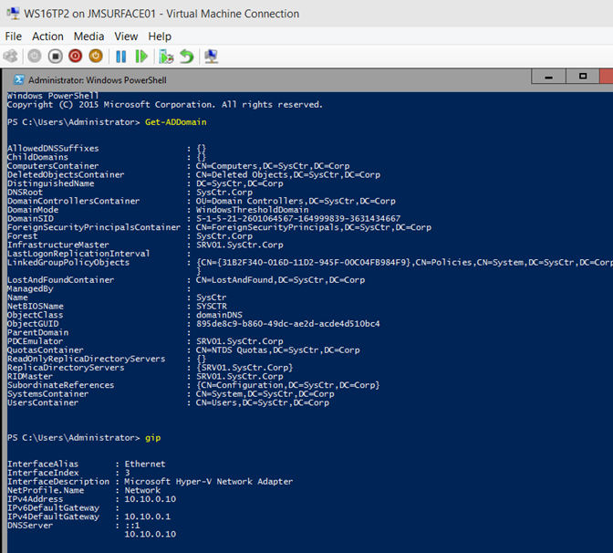 Powershell Direct with DSC  Azure Stack