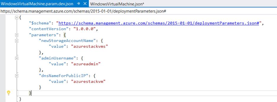 Azure Resource Manager – Templates (JSON) | Azure Stack