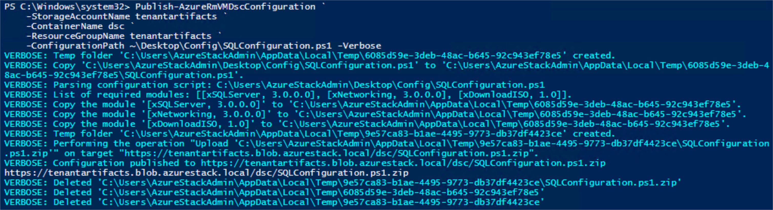 Creating an Application Deployment Gallery Item – Prerequisites