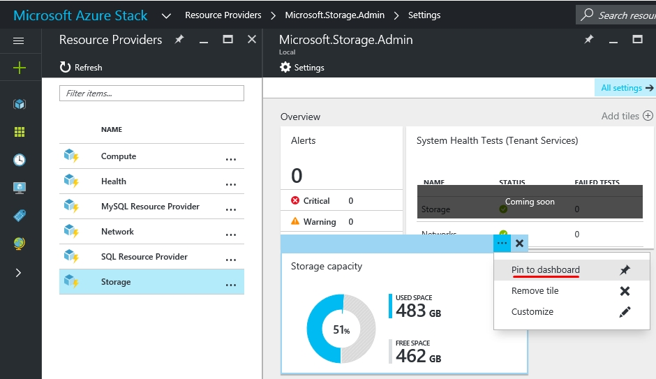 Increase the usable storage space in your Azure Stack